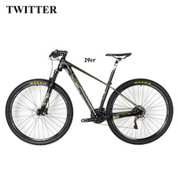 Hot Sale Carbon Complete Bicycle 29er Mountain Bike Carbon Complete Bike 15 17 19 Inch Sospensione