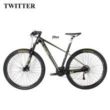 NOWY HOT!! Kompletny Rower węgla 29er Rower Górski węgla 15 17 19 Bicicletas Mountainbike mountain bike 29