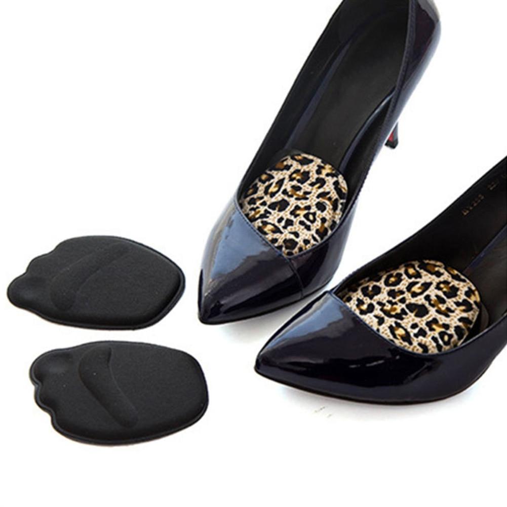 цена на Sole High Heel Foot Cushions Forefoot Anti-Slip Insole Breathable Shoes Soft Pad