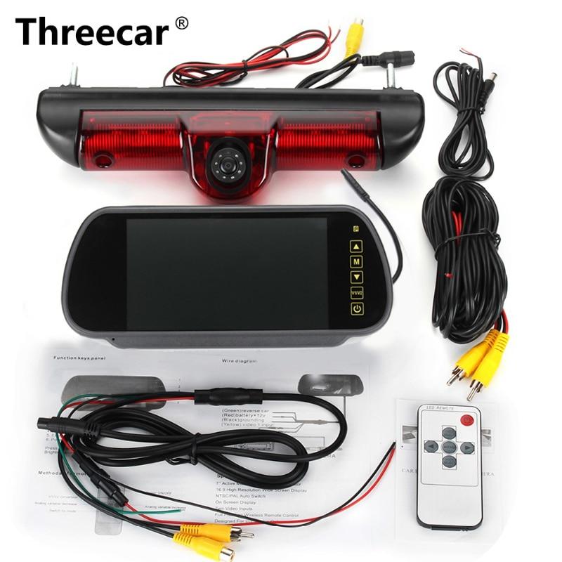 New CAMERA Rear View Reverse Backup CCD Camera For Fiat Ducato X250 Citroen Jumper III Peugeot Boxer III LED IR Parking Camera цена