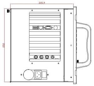 Image 4 - Промышленная рабочая станция с креплением на стойку 6U, процессор E5300, 2 Гб ОЗУ, 500 Гб HDD, 4xPCI,4xISA, промышленный компьютер с креплением в стойку, OEM/ODM