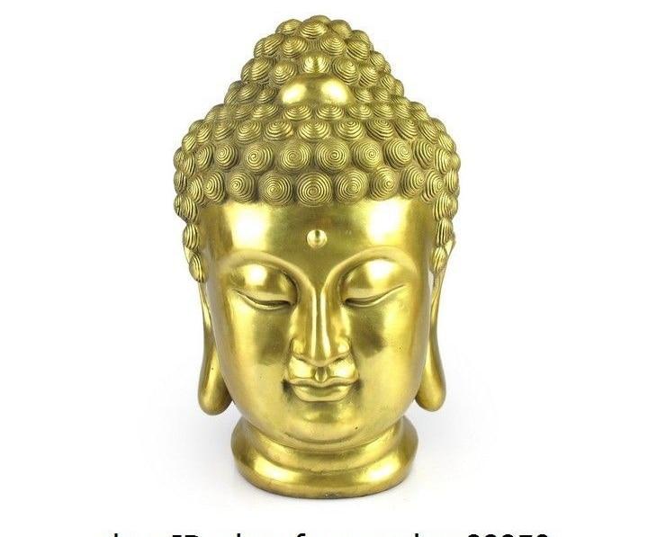 10 Tibet Buddismo Ottone Rame Tathagata Sakyamuni Amitabha Buddha Testa Statua10 Tibet Buddismo Ottone Rame Tathagata Sakyamuni Amitabha Buddha Testa Statua