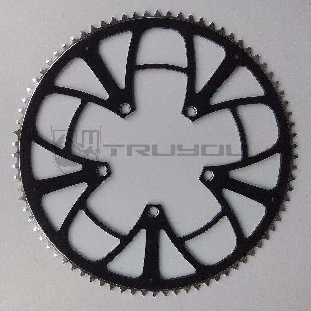 TRUYOU 130 BCD 68T 70T 75T 80T 85T 90T 120T bike parts Aluminum Alloy CNC Road