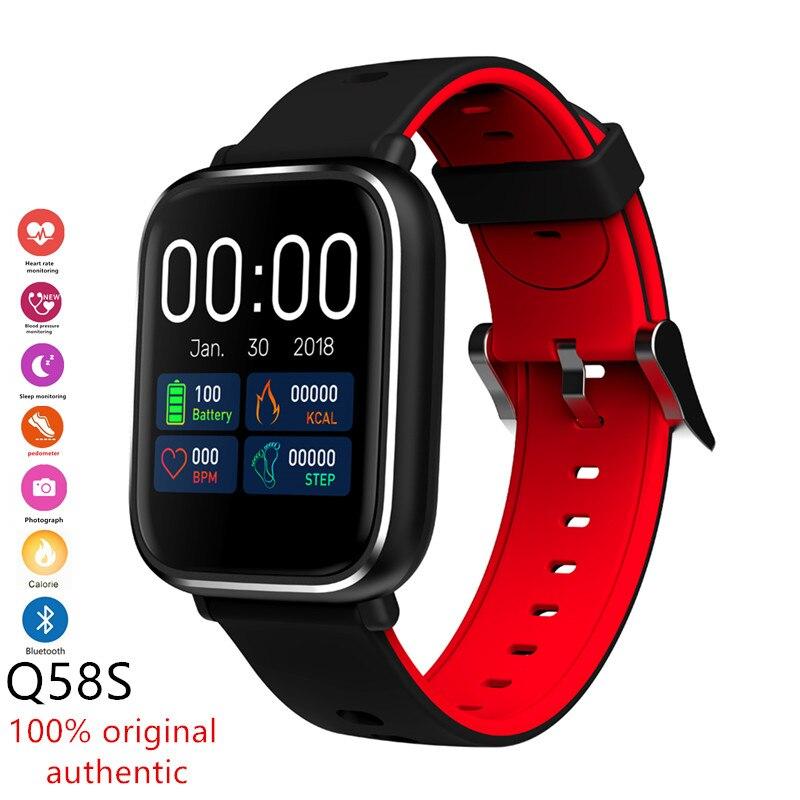 2019 New Smart Watch Women Men Waterproof Fitness Tracker Heart Rate Blood Pressure Monitor Sport Tracker Bluetooth Smart Watch