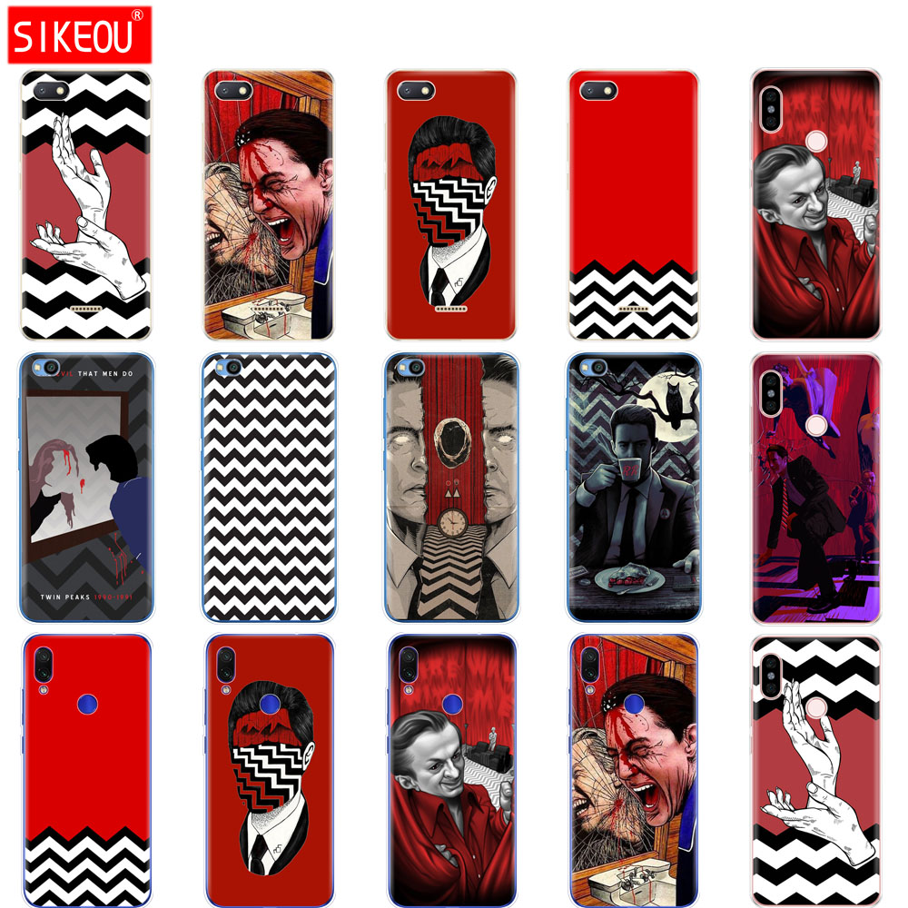 case for redmi 6a 6 pro case cover for xiaomi redmi note 7 6 pro redmi go case for xiaomi mi 9 SE Twin Peaks Thriller movie image