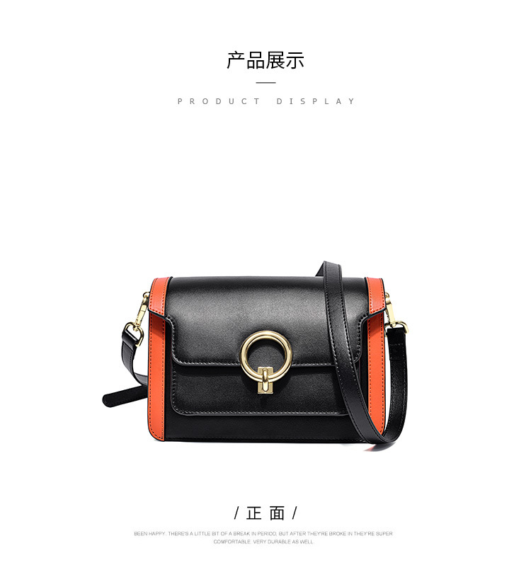 2 color New type  leather ladys bag  ladys cowhide ladys   one-shoulder ladys B6226 20190308 hong2 color New type  leather ladys bag  ladys cowhide ladys   one-shoulder ladys B6226 20190308 hong