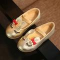 2016 Novo 1-7 T meninas sapatos casuais moda estilo coelho princesa calçados para meninas primavera outono pouco chils sapatos meninas