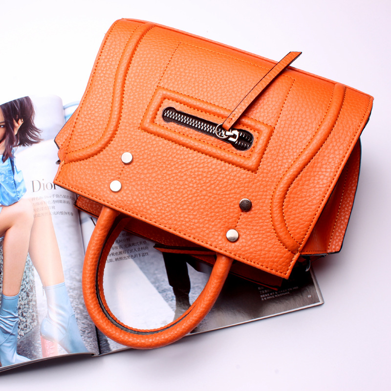 New 2016 Fashion Brand Genuine leather Women Handbag Europe and America Leather Shoulder Bag Casual Women Bag new 2016 fashion brand genuine leather women handbag europe and america shoulder bag casual women bag page 5