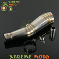 GP Stainelss Steel Motorcycle Exhaust Muffler Slip On With Moveable DB Killer For CB400 600 CBR600 1000 YZF FZ400 Z750 YZF600