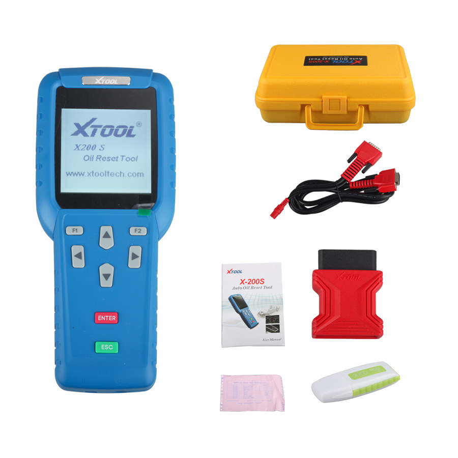 XTOOL X200S X200 S CAN BUS Oil Reset Tool EPB OBDII Engine Diagnostic Tool