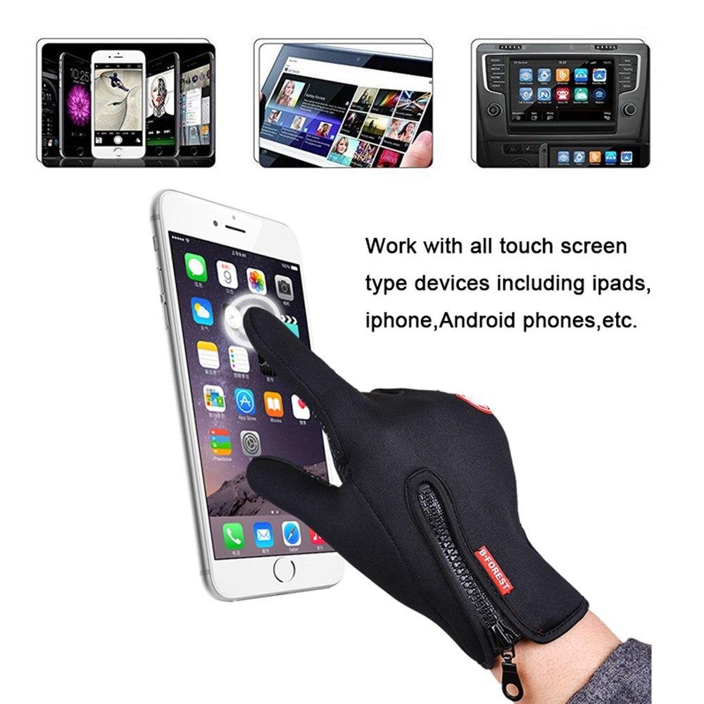 Waterproof Winter Warm Gloves Windproof s