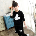Girls Clothing Sets Spring Autumn Cotton Children Clothing For Girls T-Shirt +pants 2Pcs Kids Tracksuit For Girls Baby Clothes