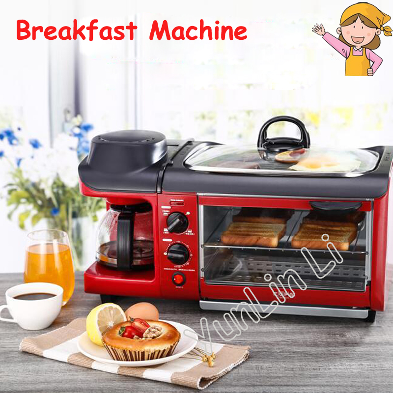 110V/220V Household Breakfast Machine Multi-Functional Toast /Coffee /Omelette Making Machine tsk-2871 ariete toast