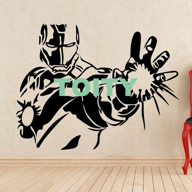 Croissant 29 conceptions Iron Man Autocollant DC Marvel Comics Affiche du PT-66