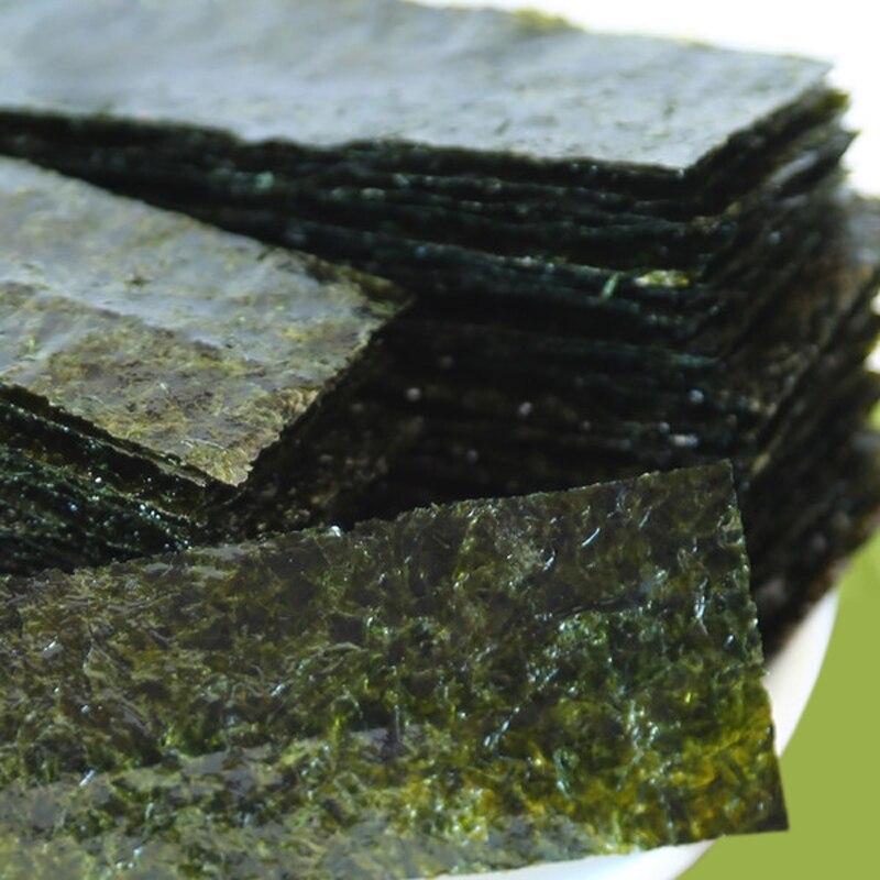Суши нори простая готовая к еде морская водоросли 1 посылка * 2 шт. (200 шт.) еды из моря-0