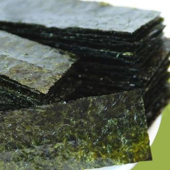 Суши нори простая готовая к еде морская водоросли 1 посылка * 2 шт. (200 шт.) еды из моря