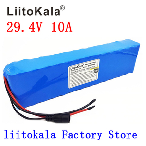Image 1 - Liitokala DC 24V 10ah 18650 Battery lithium battery 29.4V Electric Bicycle moped /electric/lithium ion battery pack