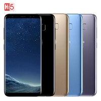 Original Unlocked Samsung Galaxy S8 Plus 4G RAM 64G ROM 6.2 Octa core 4G LTE 3500mAh Mobile Phone Fingerprint Smartphone