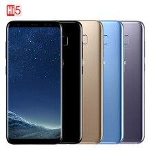 Samsung teléfono inteligente Galaxy S8 Plus, teléfono móvil Original Libre con 4 GB RAM, 64 GB ROM, pantalla de 6,2 pulgadas, Octa core, 4G LTE, batería de 3500mAh, reconocimiento de huella dactilar