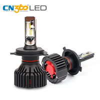 CN360 2PCS Car LED Headlight H4 H7 H8 H9 H11 9005 HB3 9006 HB4 12V 6500K