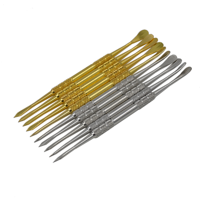 50pcs Bho Dab Wax Dabbers Vaporizer Stainless Steel Dabber Wax Tool for Slick butane oil Dry
