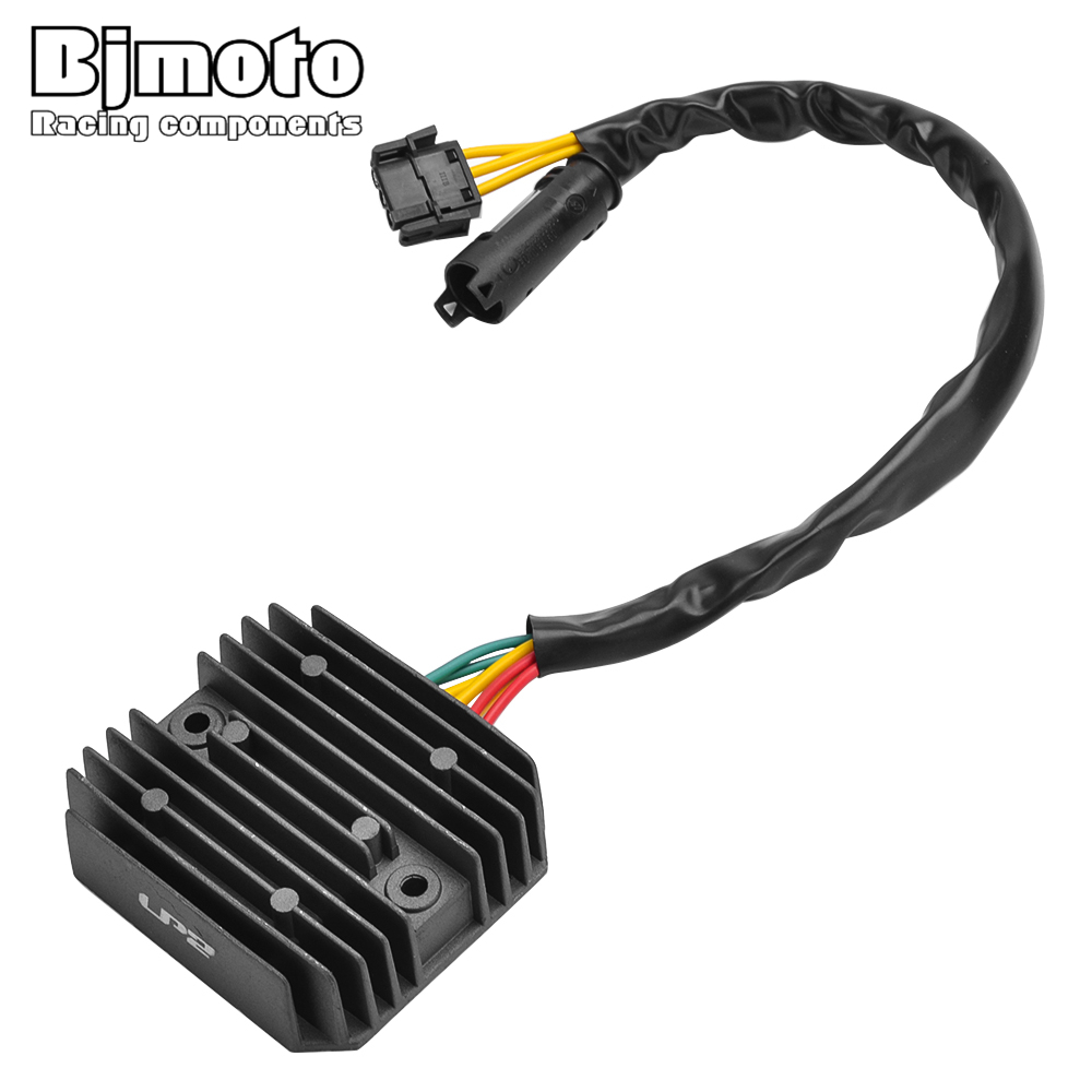 BJMOTO Motorcycle Voltage Regulator Rectifier For BMW F800GS ADV F800GT F800R F800S F700GS F650GS Dakar Twin