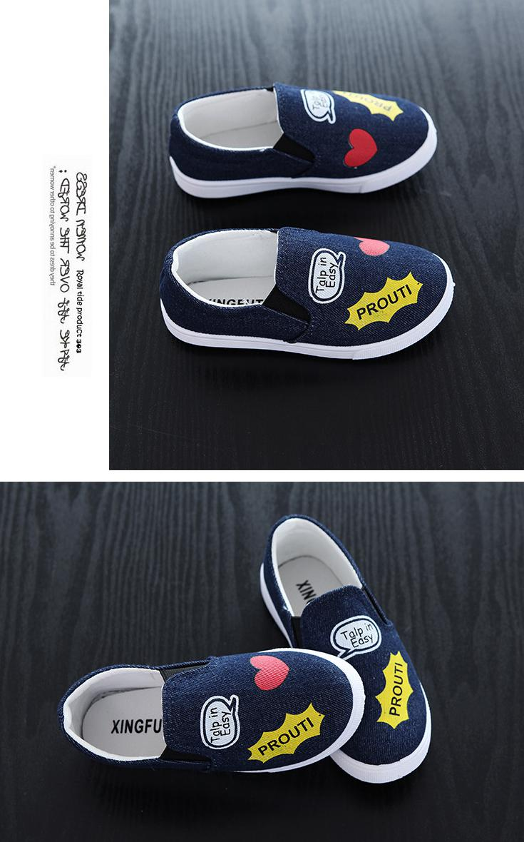 17 New Children Shoes Boys Girls Canvas Casual Shoes Sneakers Fashion Kids Flat Loafers Comfort Breathable Baby Boy Girl Shoes 3