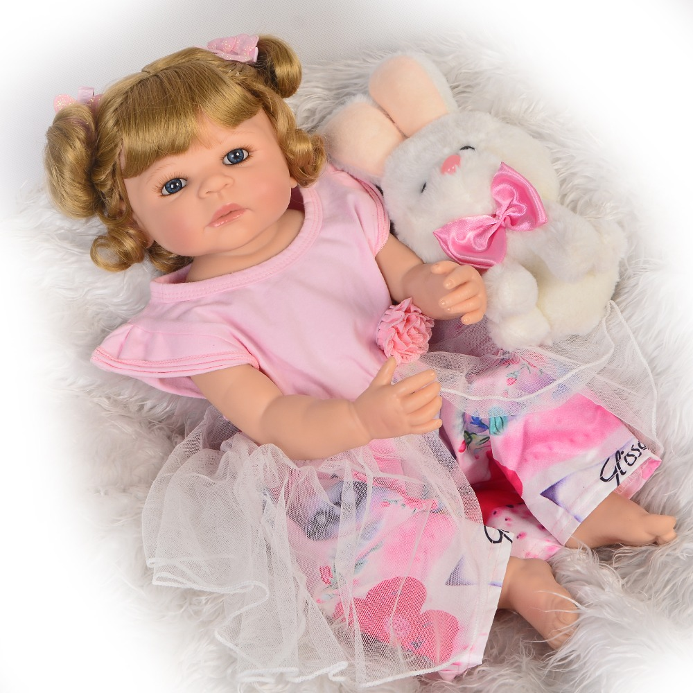 Bebes Reborn silikon bebek 57CM Full Body silicone doll Girl Reborn Baby Doll Bath Toy Lifelike Newborn Princess adroas dollBebes Reborn silikon bebek 57CM Full Body silicone doll Girl Reborn Baby Doll Bath Toy Lifelike Newborn Princess adroas doll