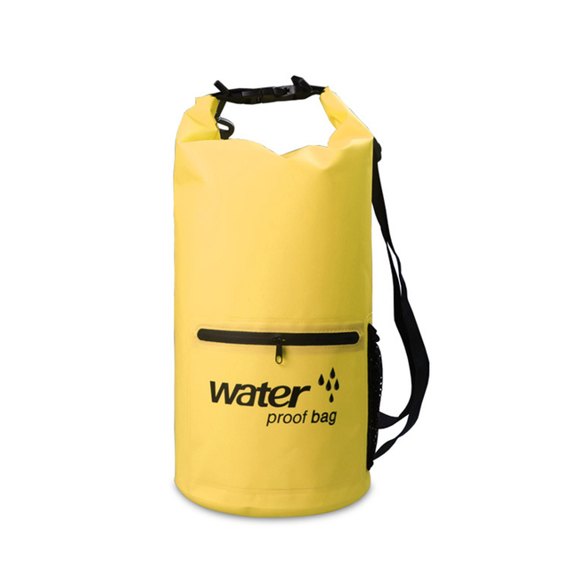 c304a927d4 10L 20L Swimming Waterproof Bag Storage Dry Sack Bag For Canoeing Kayak  Rafting Outdoor Sport Bags