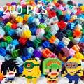 DIY Строительные Блоки 200 шт. Случайный Цвет Творческий смешные Кирпичи Кирпичи Игрушки для Детей Образовательных Совместимы с brinquedos