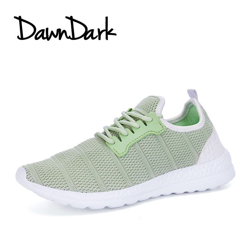 Womens Running Shoes Summer Outdoor Female Athletic Sneakers Lace Up Women Sport Walking Mesh Flywire Flat Shoes ...