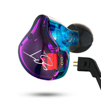 KZ ZST Armature Dual Driver Earphone Detachable Cable In Ear Audio Monitors Noise Isolating HiFi Music
