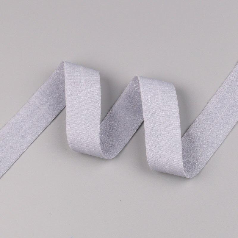 5 ярдов/Лот 20 мм ширина 34 цвета эластичная лента использование для diy аксессуары и одежда галстук лента для волос - Цвет: 23