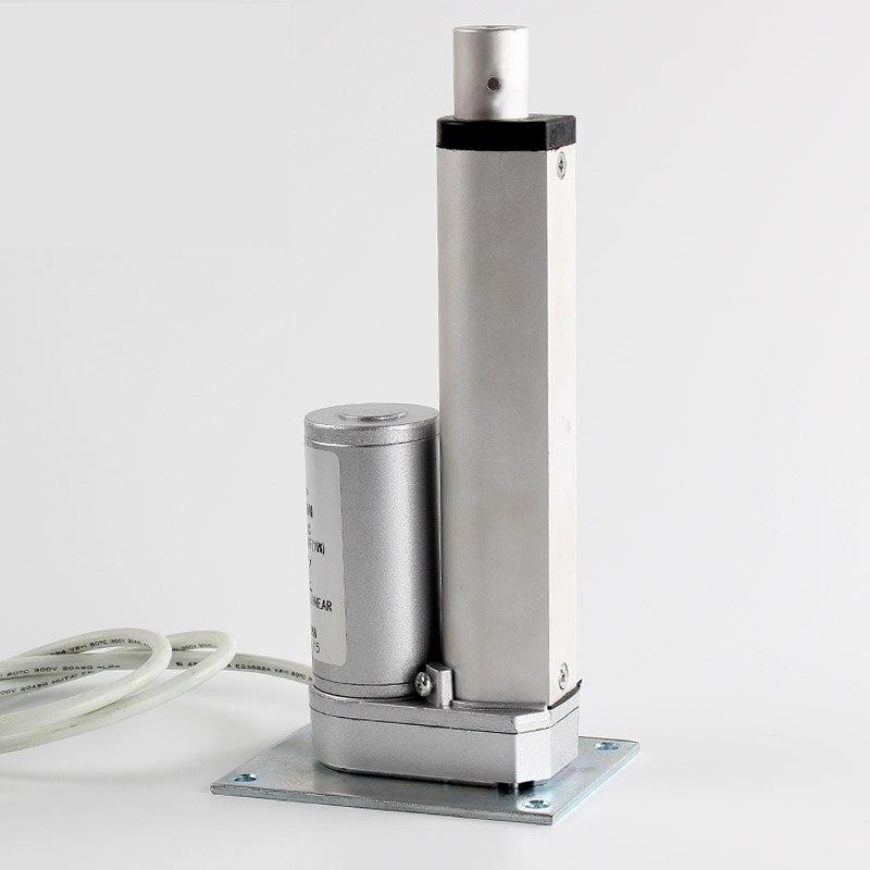50 мм мини-линейный привод без каблука База 24 В 1300n электрические окна привод Электрический кровать подъема двигателя