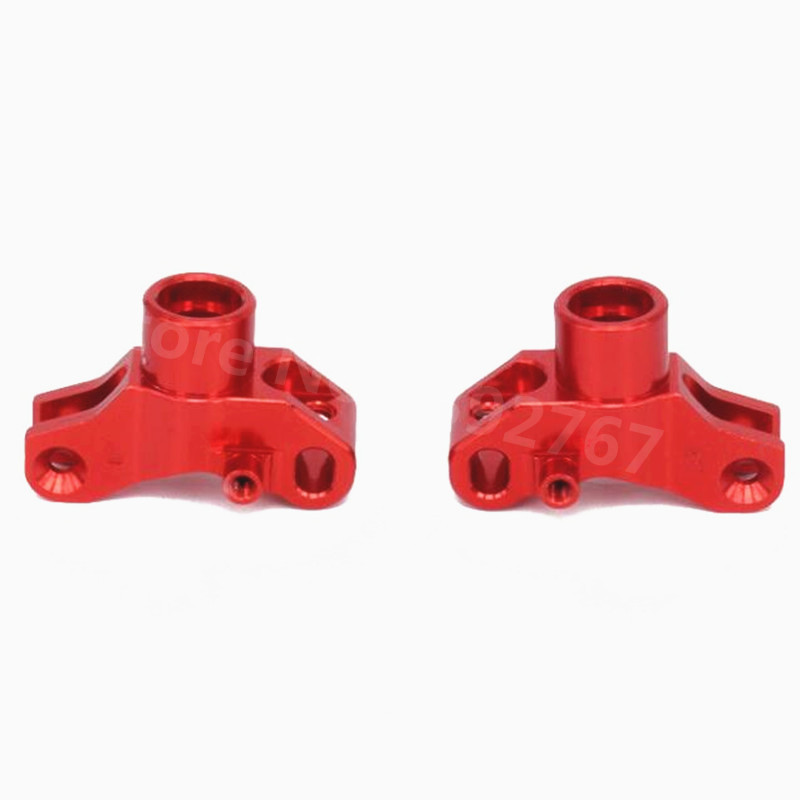 2 Pieces RC Cars Aluminum Alloy Upgrade Rear Hub Carrier(L/R) For RC Hobby Model Car 1/10 Scale Kyosho Optima JAVELIN 4WD CNC