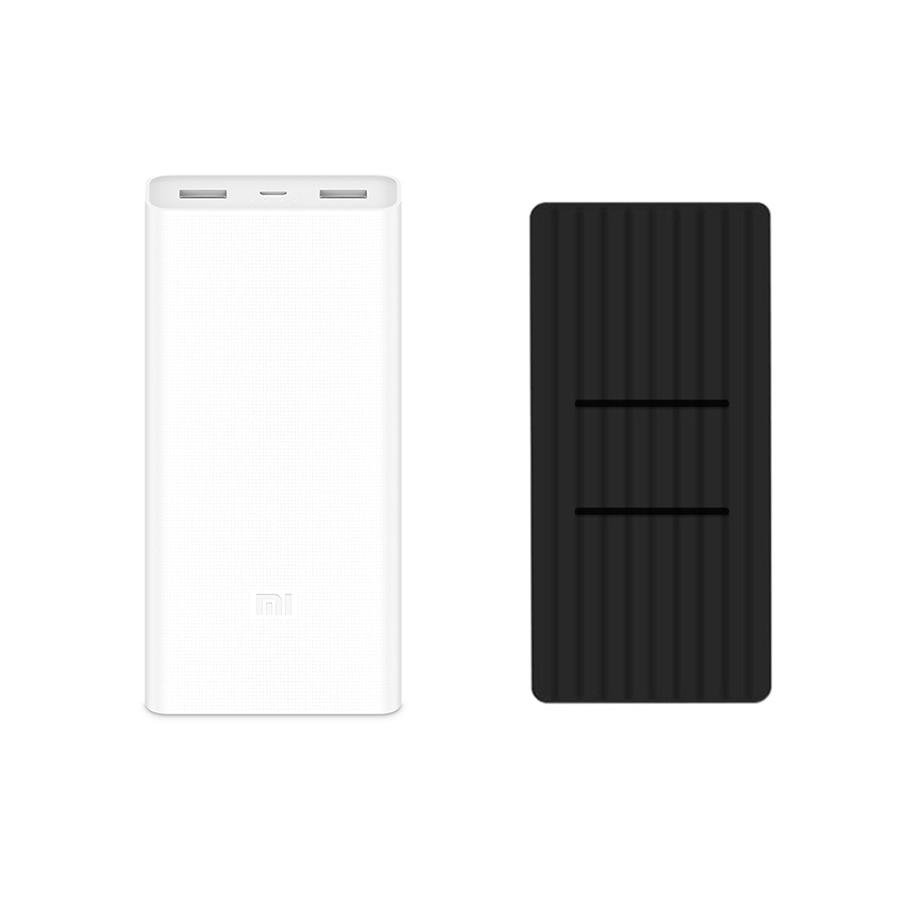 Original Xiao mi mi 20000 mah Power 2C Zwei-weg QC3.0 Schnelle Ladung Dual USB 20000 mah Power Bank für iPhone Sumsang Huawei LG