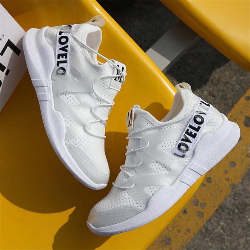 De Nouveau Harajuku Sneakers Chaussures Casual Et Respirant Sauvage Laidilangtu 03 01 Femmes Blanc Mouvement Printemps 2018 02 D'été Iwxqz4C0A