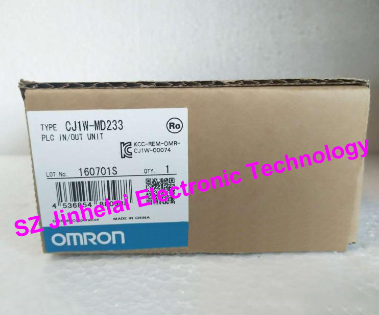 100% New and original CJ1W-MD233  OMRON  PLC INPUT/OUTPUT UNIT 100%new and original cj1w od262 cj1w od263 omron plc controller output unit