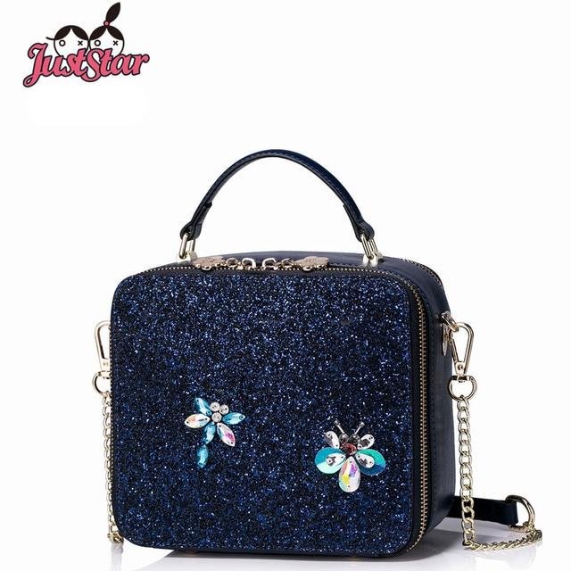 Just Star Fashion Brand Women Bag Pu Leather Designer Lady Handbag Mini Shoulder Messenger Bags