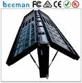 Leeman Sinoela P6 P8 P10 P16 cor frente e verso de publicidade de dupla face LED sinal de LED sinal