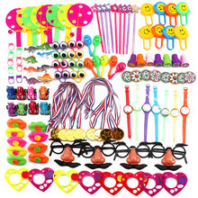 120Pcs Children Birthday Party Giveaways Prizes Assorted Small Toys Set Support Kid Playing Gifts(China)