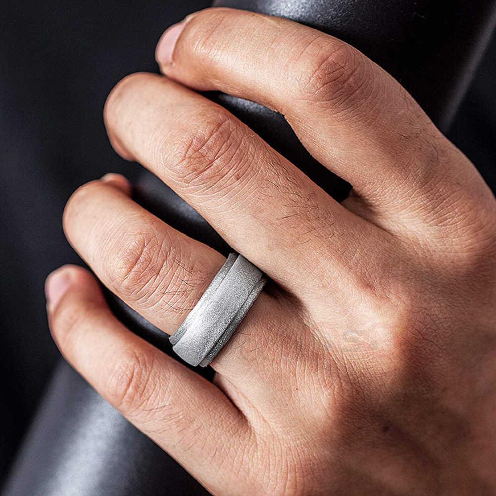 מזון כיתה ה-FDA 7-14 גודל היפואלרגנית גמיש מזון כיתה ה-FDA סיליקון אצבע טבעת גומי סביבתי טבעות לגברים נשים