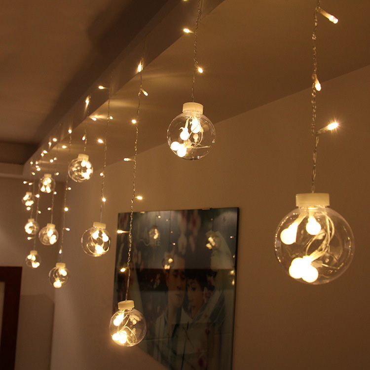 Jiaderui 1x3 м 120 светодиоды Медный провод микро свет строка гирлянды Рождество праздник strng огни Открытый Декоративной stret строки