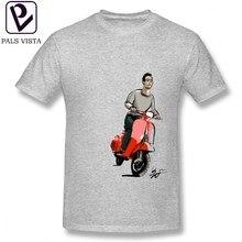 01c136205149a0 Vespa T Shirt Vespa Motorrad T-Shirt Kurz-Hülse Strand T Hemd Männlich  Gedruckt Genial 100 Baumwolle 6xl T-shirt