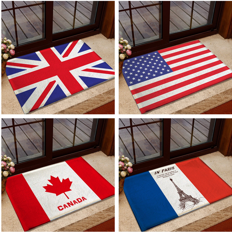 British American Uk Usa Flag Carpet Modern Rugs And Carpets For Home Living Room Infantiles Alfombras Dormitorio De Sala 40x60cm In From