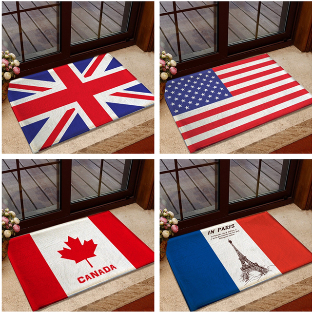 British American Uk Usa Flag Carpet Modern Rugs And Carpets For Home Living