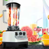 Heavy Duty Commercial Grade Blender Mixer Juicer High Power Professional Food Process 2200W2L Blade Juicer Ice Smoothie Machine