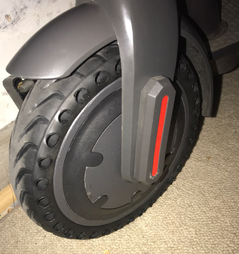 Xiaomi Mijia M365 Electric Scooter Skateboard Hollow Non-Pneumatic Front Rear Tires Reinforcing Rib Porous Damping Solid Tyres