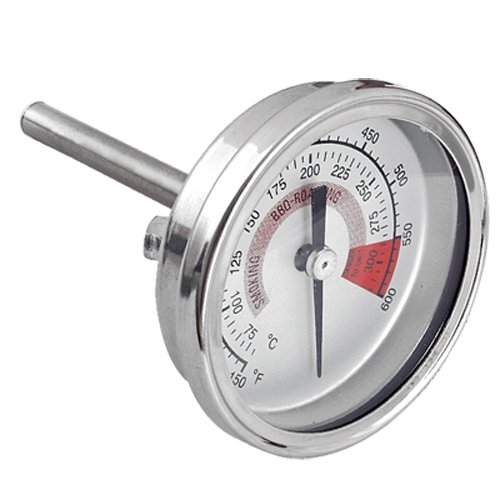 SZS Hot Barbecue BBQ Pit Smoker Grill Thermometer Gauge 300
