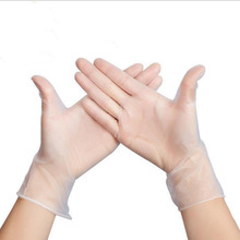 50/100PCS Food Grade Disposable PVC Gloves Anti-static Plastic Gloves For Food Cleaning Cooking Restaurant Kitchen Accessories
